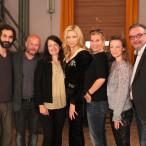 v. l.: Eray Egilmez, Christian Vorländer, Kathrin Abele, Veronica Ferres, Julia Schönfeld-Knor, Magdalena Prosteder, Klaus Peter Rupp